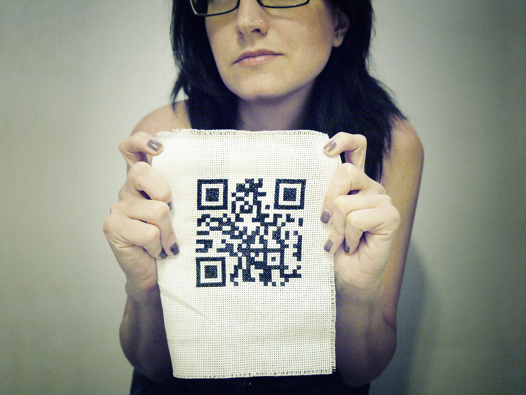 QR Code Cross stitch (ovvero: Punto Croce)