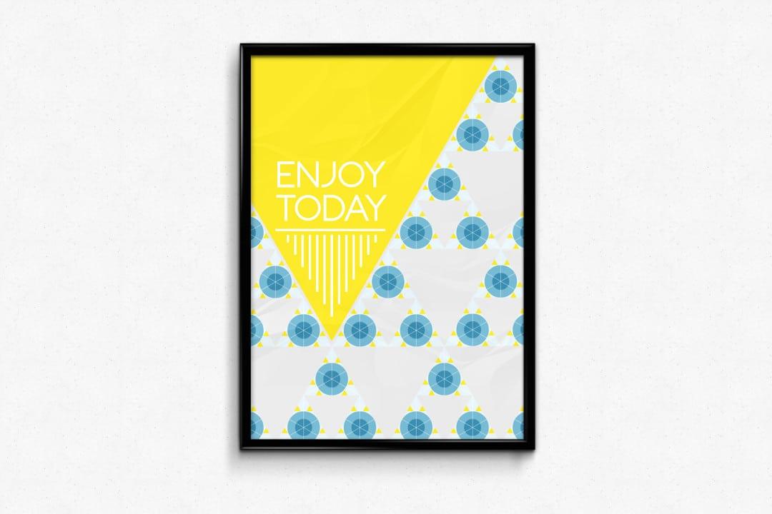 Enjoy Today Poster