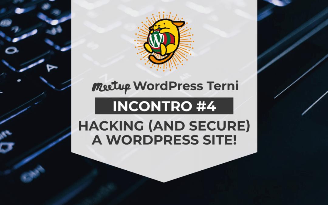 Siamo al 4° Meetup WordPress Terni!